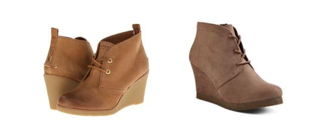Sperry Top-Sider Harlow vs. Target Terri Booties